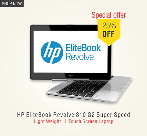Hp elitebook revolve 810 G2 Super Speed