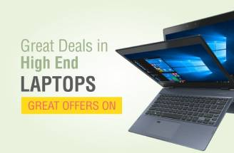 Great deals in high end laptops